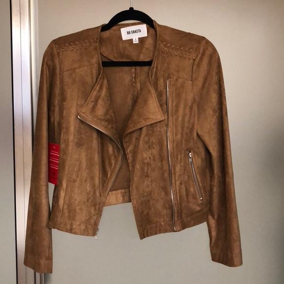 BB Dakota Jackets & Blazers - BB Dakota Allerton Suede Jacket
